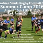 Saints Summer Camp option 1
